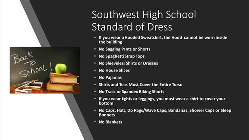 Southwest High School Homepage