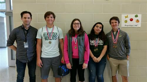 Bobcats bring home honors at district UIL meet
