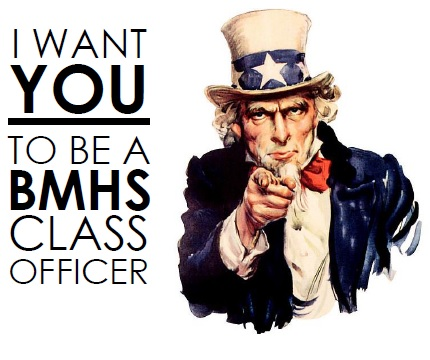 Class Officers Wanted!