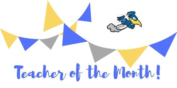 September Teacher of the Month!