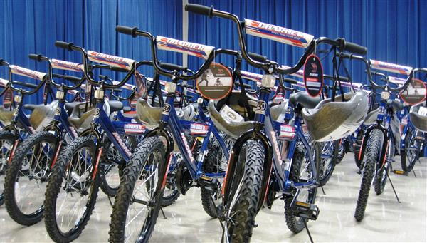 Cityview Academy Bicycle Donation