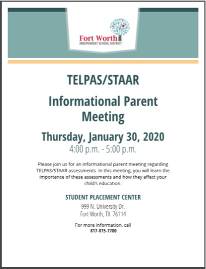 Informational Parent Meeting