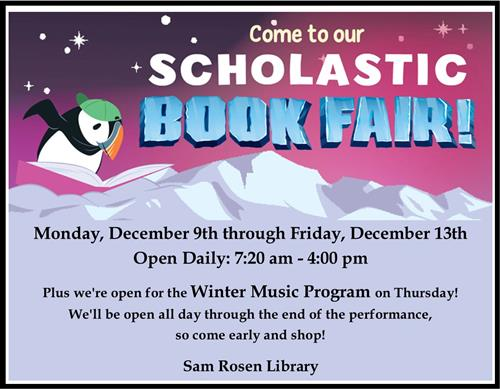 Winter Book Fair