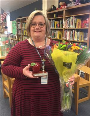 Mrs. Boeshart named Teacher of the Year-Congratulations!