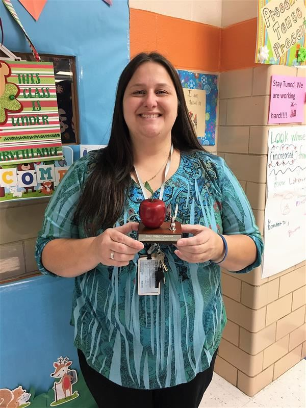 Southwest Pyramid Teacher of the Month