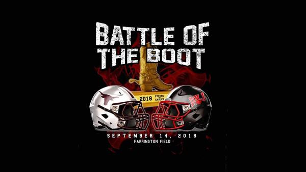 Join us tonight to cheer on our DHJ Eagles at the Battle of the Boot!
