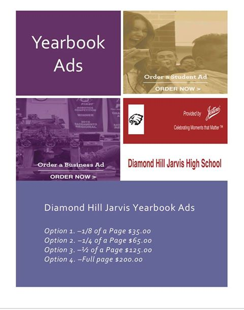 Diamond Hill-Jarvis High School Yearbook Ads