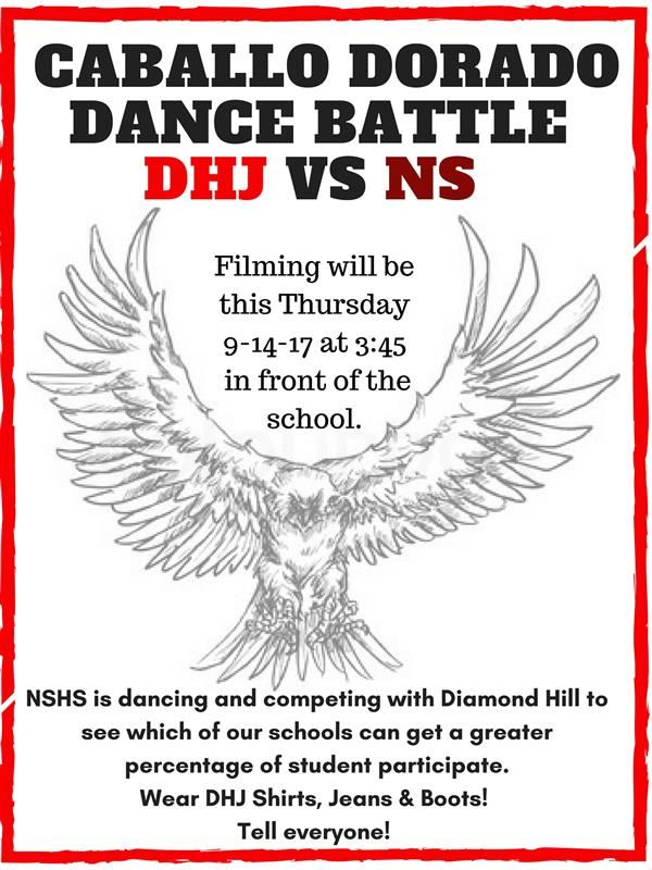Caballo Dorado Dance Battle---DHJ vs. NSHS