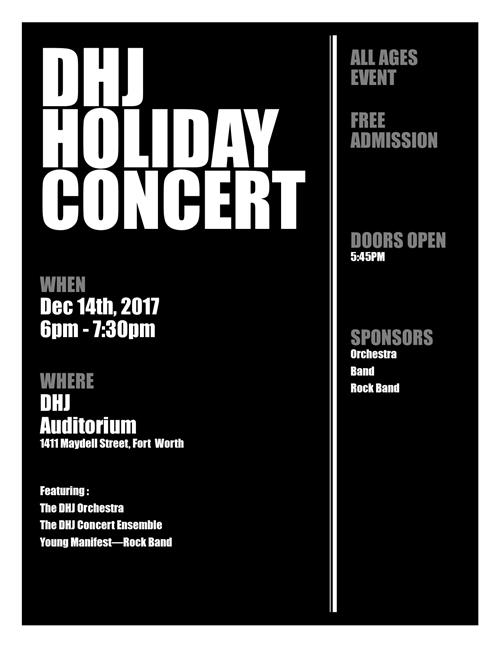 DHJ Holiday Band Concert