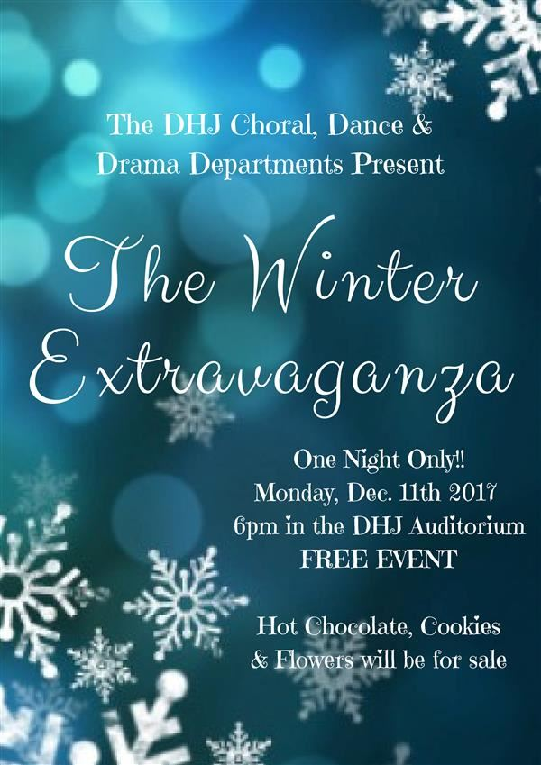 DHJ Annual Winter Extravaganza 2017