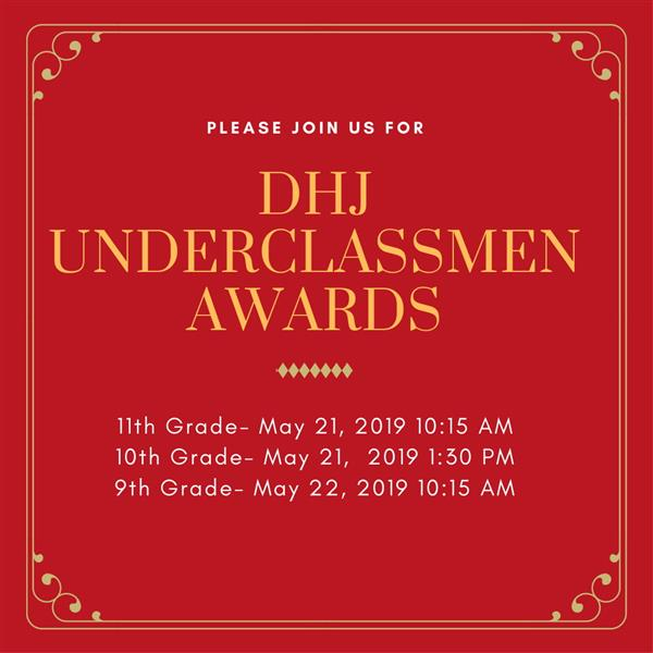 Diamond Hill-Jarvis High School Underclassmen Awards