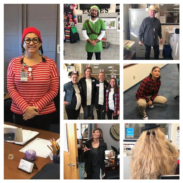 DHJ Faculty Show Their Halloween Spirit