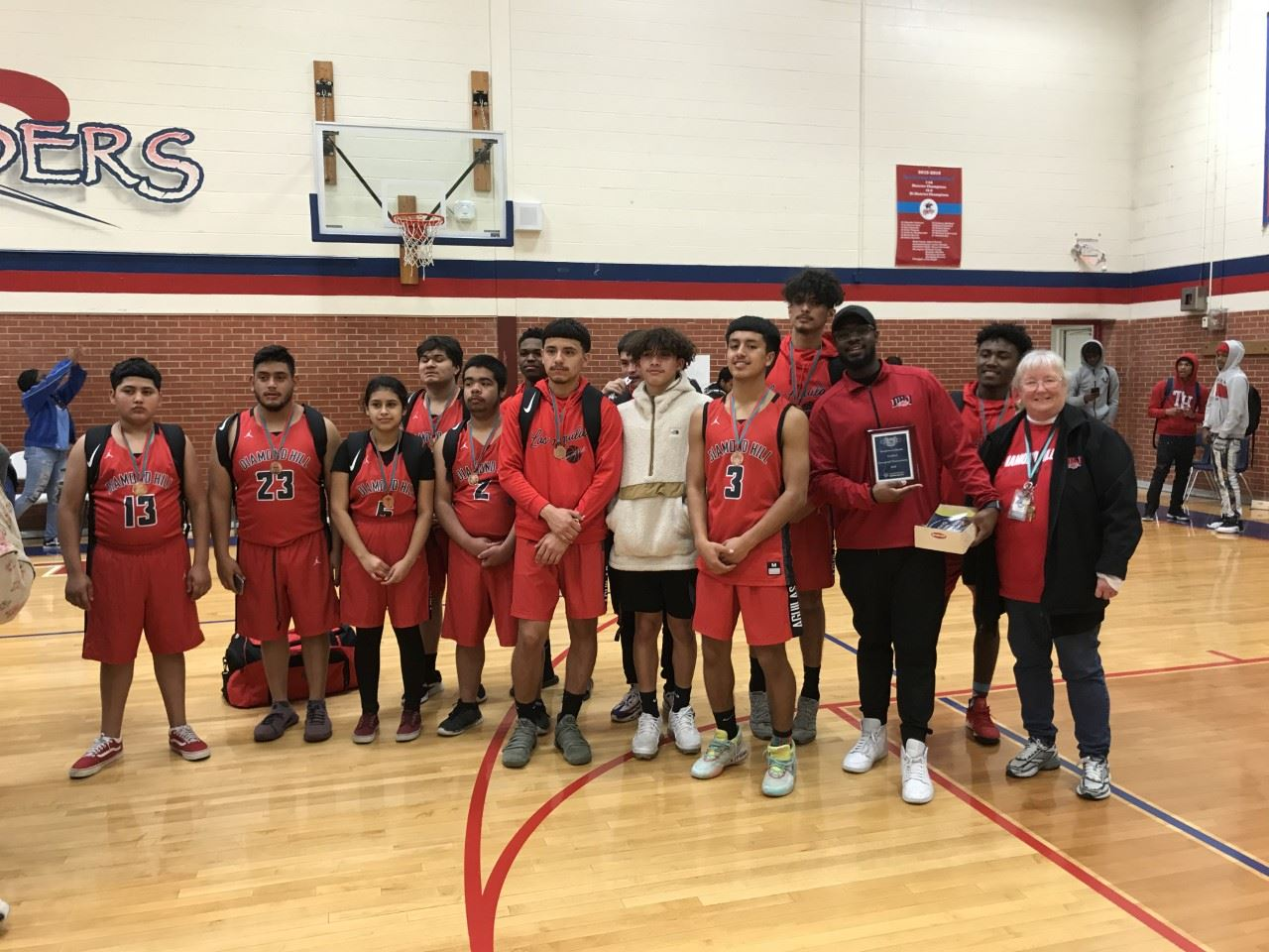 Diamond Hill-Jarvis High School Unified Basketball Team