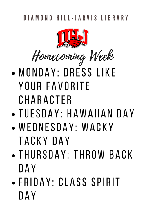 DHJ Homecoming Week