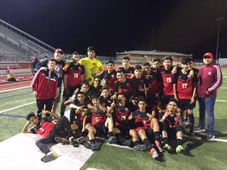 DHJ Bi-District Soccer Champions