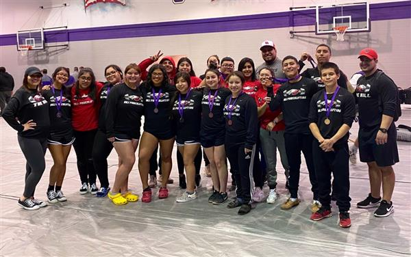 Congratulations to the Diamond Hill-Jarvis Powerlifting Team members!
