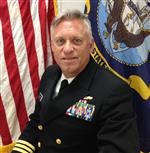 Naval ROTC Area Ten Manager, CDR Mike Hale