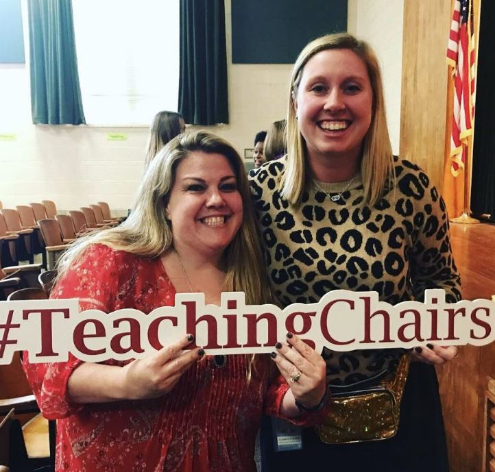 Teaching Chair of Excellence -  Congratulations Miss Foreman!
