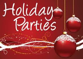 Holiday Parties - December 21, 2pm
