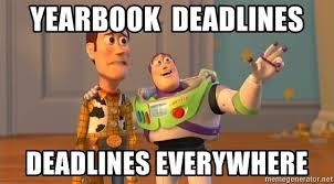 Yearbook Ordering  Deadline!