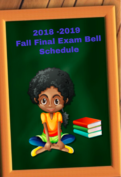 2018 - 2019 Fall Final Exam Schedule