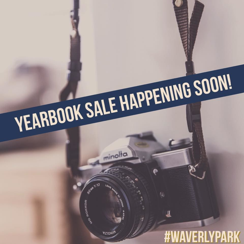 WP Yearbooks sale dates!