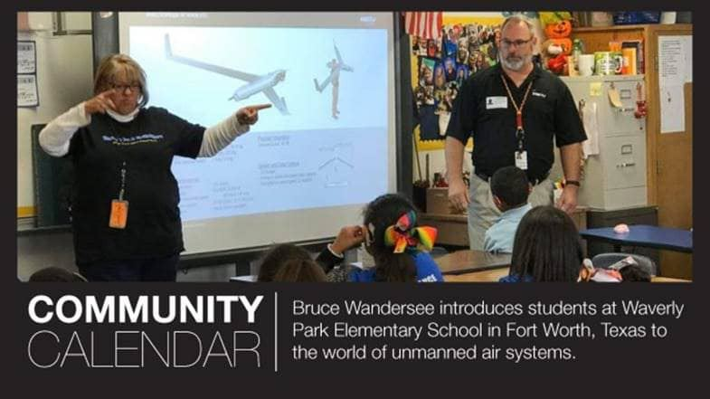 SPOTTED: Waverly Park was featured in Insitu's company calendar! What an honor it was to have Mr. Wandersee visit our school and speak to our students about his career.