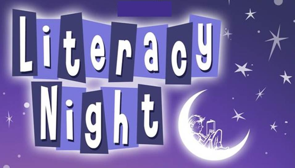 Literacy Night ~ October 18, 2018 @ 6:30pm