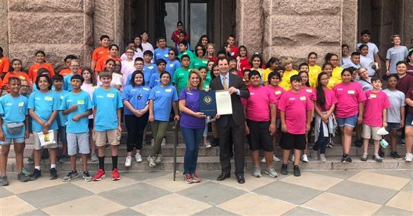 Westcliff was recognized with a resolution from the Texas House of Representatives for receiving a 2018 America's Best Urban School Award.