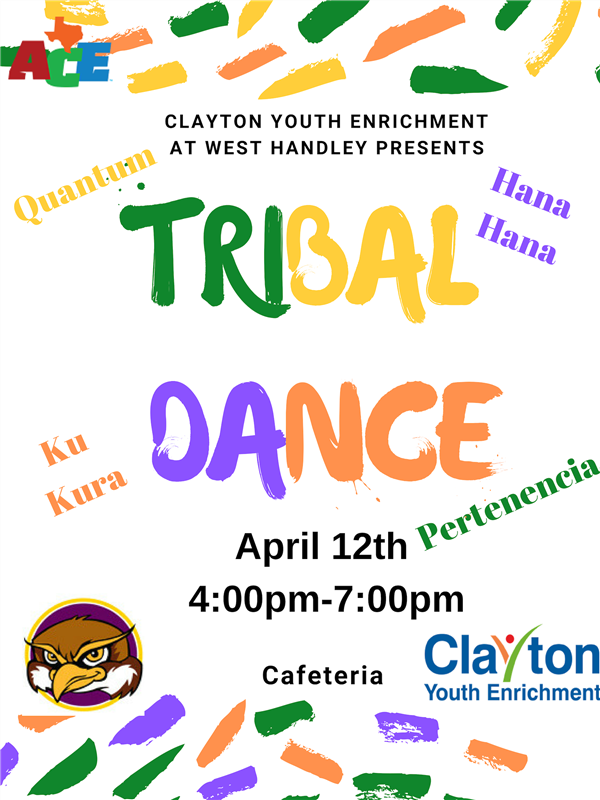 Clayton Youth Enrichment Tribal Dance