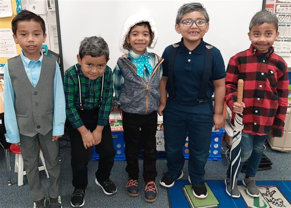 WHP Celebrating 100th Day of School!