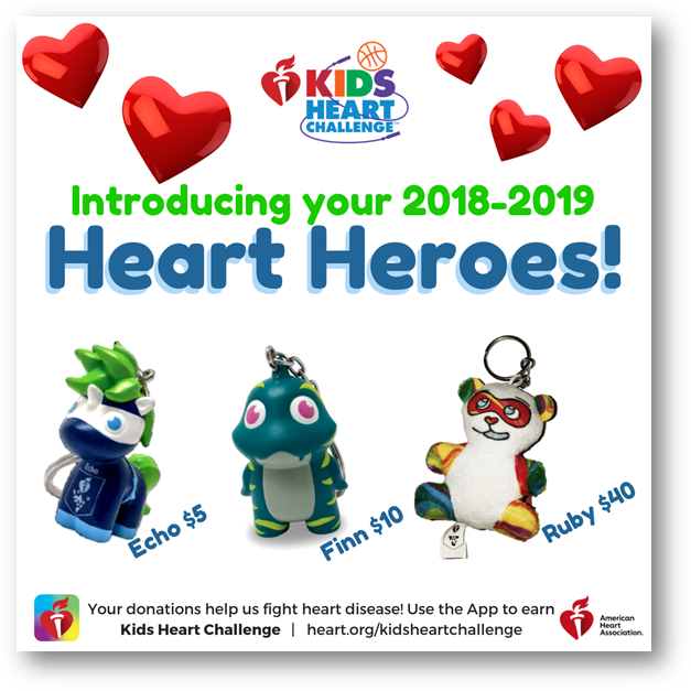 Kids Heart Challenge with the American Heart Association