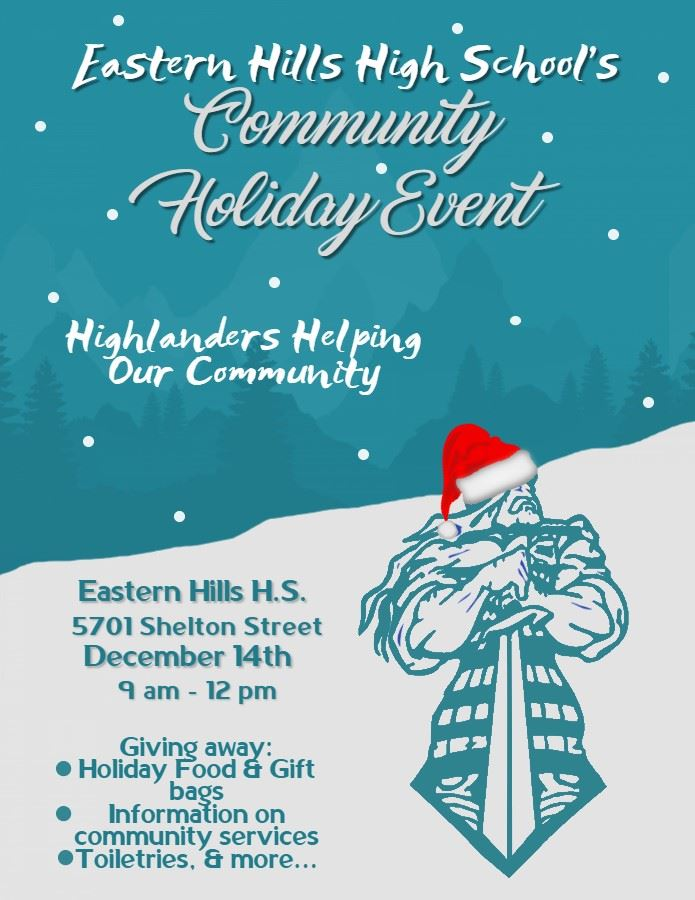 Eastern Hills High School Community Holiday Event