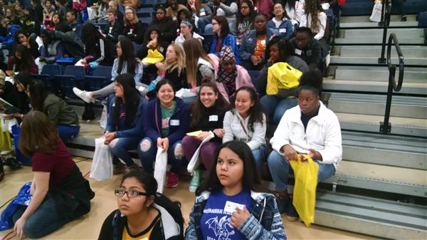 INA girls attend Expand Your Horizons event for Math and Science