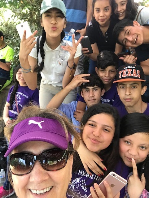 Group at zoo