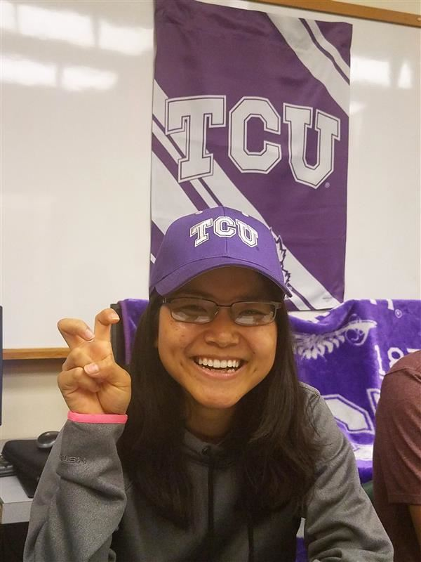 Former INA student wins TCU scholarship