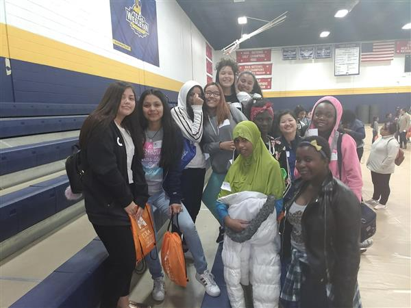 Middle School Girls Attend Science Event