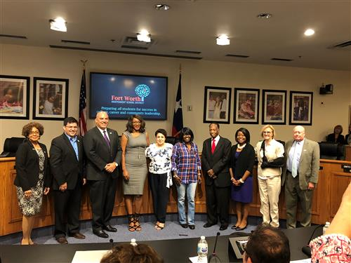 Board recognizes INA