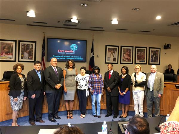 INA recognized by board for helping Dorika and her family