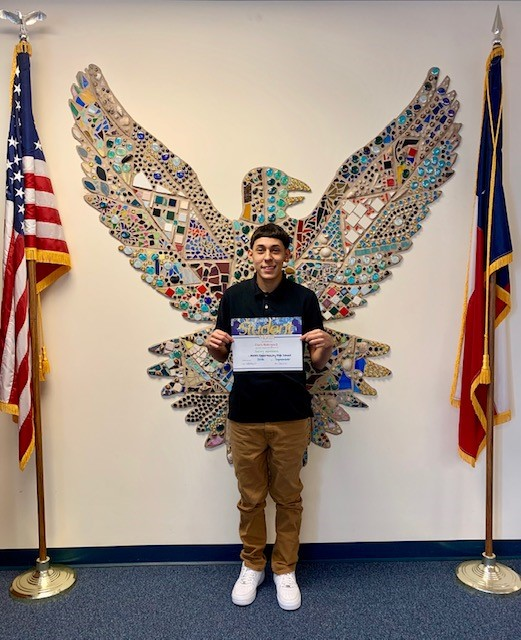 Student of the Month - September 2019