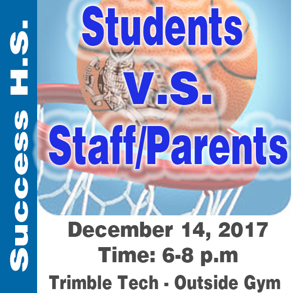 Basketball Game - Students VS Staff/Parents | Competition