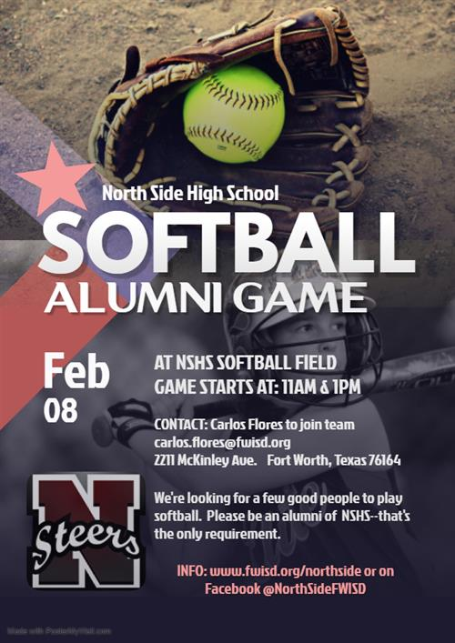 Softball Alumni Game