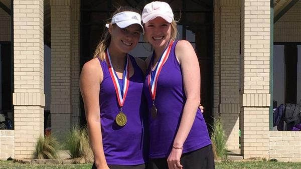 FW Paschal juniors Shauna Galvin and Emily Buell won the District 4-6A title this season