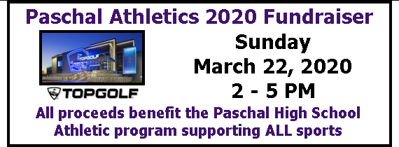 PHS Athletics 2020 Topgolf Fundraiser