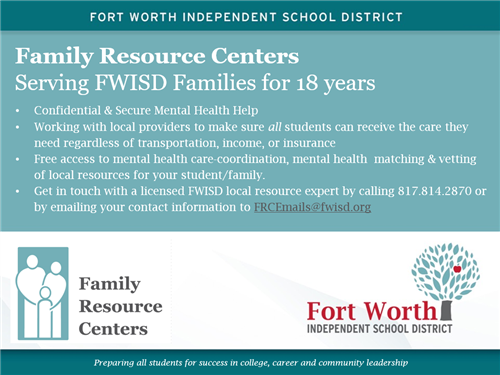 Get Student Support Services at the Family Resource Center