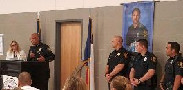Paschal Alumni Present Scholarships in Name of Fallen Dallas Officer