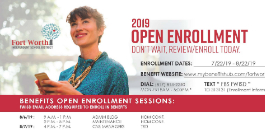 Employee Benefits Open Enrollment Underway