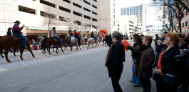 FWISD Among Fort Worth Stock Show All-Western Parade Participants