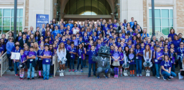 TCU Sponsors Math and Science Trail for FWISD Fourth Graders