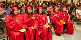 14 Graduate From Parent University at H.V. Helbing ES